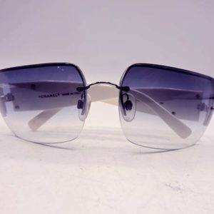 Chanel Sunglasses 4095B Gradient Lens Swarovski